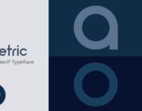Neometric - Typeface Design