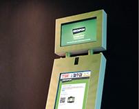 Groupon Interactive Kiosk
