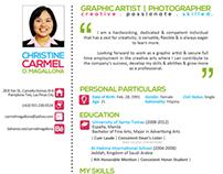 Curriculum Vitae & Portfolio Snippets