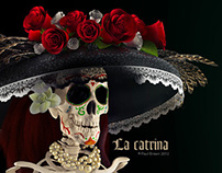 La Catrina - Mexican Day of the Dead Character