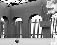 3D Bball Court