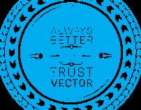 Trust Vector Sticker Series