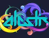 Plastic Logo Illustration