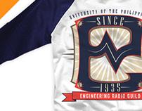 ERG 77 Shirt Design and Typography