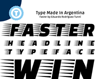 FASTER - Free Google Web Font