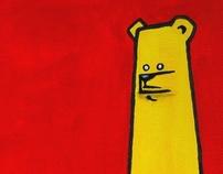 Canvas bears