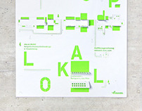 Pop—Up—Lokal Poster