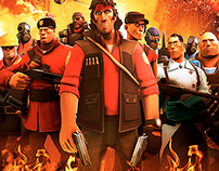 TF2 Movie posters