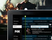 TV iPad integration