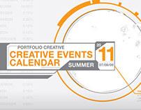 Portfolio Creative   Summer Events Calendar