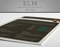 ELM - Creative and Professional Resumes templates