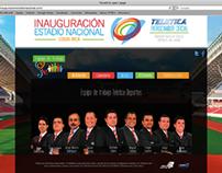 Inauguración Estadio Nacional de Costa Rica