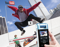 Sony Bloggie 360 launch campaign