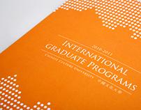 2010 - 2011 International graduate programs