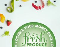 Food Lion Produce Signage Concept
