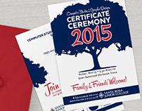SRJC Certificate Ceremony Invitation