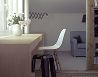 Design and visualization Bridal Suite
