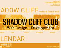 Shadow Cliff Club Website Design + Development