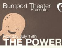 Biennial Postcard for Buntport Theater