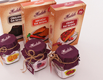 Marbela Jam and Cake Corporate İdentity / Packaging