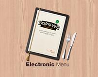 BENNIGAN'S Electronic Menu