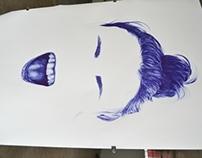 Blue Biro Live Art