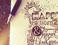 happybirthday to me