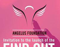 Angelus foundation Invite Design