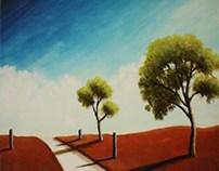 Simple Landscape Paintings