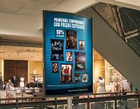 Poster e Ponta de gôndola  -  Paramount e FNAC