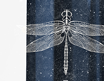 DRAGONFLY / wine label