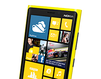 TURKCELL / NOKIA lumia 920 launch display design