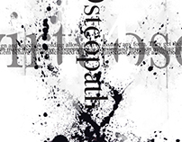 B/W Abstract Typography Experiment
