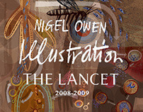 Lancet Neurology Cover Illustrations