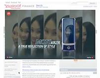 Motorola RAZR Crazy Reflections