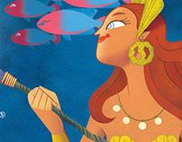 Cozumel Mermaid Poster