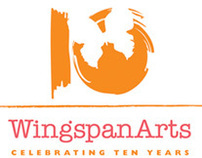 Wingspan Arts / 10 Year Anniversary logo