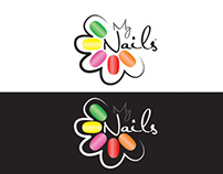 MY NAilS logo & Branding
