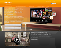 Hotsite Sony Smart TV