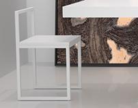 Furniture rendering.