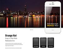 Orange Hat Group - Website Concept