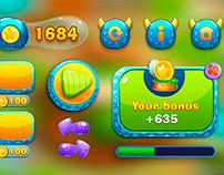 Children's apps UI