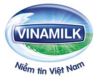 Vinamilk logo animation