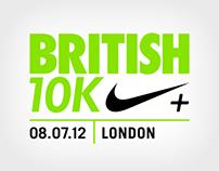 The British 10K - Cheer Me On