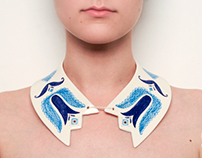 The Awesome Project : DOI/TWO porcelain jewelry line