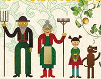 The Turnip. Ukrainian Folktale told by Ivan Franko