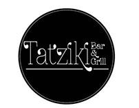Tatziki Bar&Grill - Menu Design