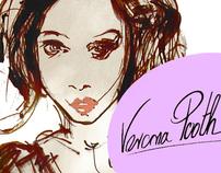 KiK Verona Pooth collection 2010 Fashion Illustrations