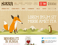 Hukka - wooden toys ecommerce