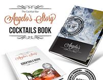Cocktail Book Menu